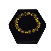 Wholesale Jade Bracelet Watch - Direct Sale Jewelry Display Stand Hexagon Black Velvet Bracelet Bangle Jade Bead Chain Watch Organizer Display Stand Tray