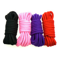 Wholesale Games Sexo - Fetish 10 Meter Sexy Cotton Rope Erotic Toy Sexo Restraint Rope Sex Products Sex Toys For Couples Adult Game