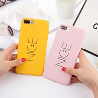 5S Телефонный чехол для iPhone 7 Case Coice NICE Smile Expression Case Cover Чехлы для iPhone7 6 6s Plus 5 5s