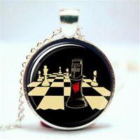 Wholesale Knights Pendant - 10pcs lot Monty Python Black Knight Inspired Necklace Glass Photo Cabochon Necklace