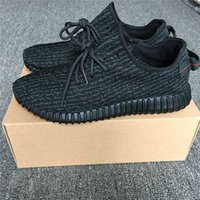Wholesale Pirate Luxury - 2016 LUXURY RELEASED 350 BOOST PIRATE BLACK BEST QUALITY AUTHENTIC 350 TURTLE DOVE GRAY WITH SHOES BOX WOMEN