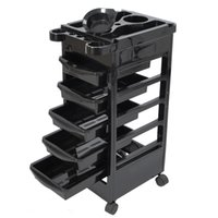 "Wholesale Modern Salon Spa - 32"" Beauty Salon Spa Styling Station Trolley Equipment Rolling Storage Tray Cart"