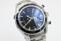 Wholesale Men Sapphire Bracelet - Luxury brand new watch men 600m Co-Axial planet ocean automatic mechanical hand wind watch original bracelet watches men free shipping