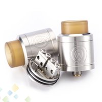 Wholesale feeding bears - Authentic Wotofo Vaporous RDA 24mm Tank Atomizer Bottom Feeding with Wide Bore Drip Tip Fit 510 E Cigarette DHL Free