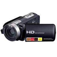 dijital kameralar yüksek yakınlaştırma toptan satış-Toptan-Yeni 1080 P 24MP Dijital Kamera Kaydedici Kamera DV DVR 3.0 '' Inç LCD 16x Zoom Kamera Yüksek Kalite Hızlı Kargo