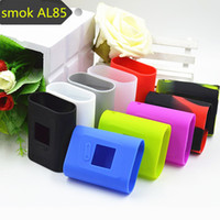 Wholesale Sleeve Boxes - SMOK AL85 Silicone Case Bag Colorful Rubber Sleeve Smoktech AL85W Protective Cover Skin for Alien Baby Mini TC AL 85W Box Mod