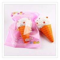 Wholesale Idea Photos - Wholesale Kawaii Squishies Ice Cream Squishies Slow Rising Cream Cake Mango Phone Straps Charm Fidget Toys Gift Ideas Free DHL