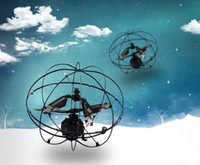 Wholesale Vehicle Channel Black Box - New Easy Operation Vehicle Flying RC Flying Ball Infrared Sense Induction Mini Aircraft Remote Control Wireless UFO Toys for Kids