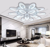 Wholesale Remote Control Butterflies - Creative modern acrylic butterfly led ceiling light living room bedroom led ceiling lights home indoor decoration lighting light fixture MYY