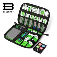 Wholesale Bags For Packing - BAGSMART Electronic Accessories Packing Bag For Phone Charger Date Cable SD Card USB To Travel Organize Put In Suitcase