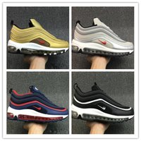 Wholesale Mag Shoes - 2017 Men 97 Shoes OG Running Shoes God Sneakers Maxes 97 Breathable Cushion Mag Sports Outdoor Trainers Size 40-46