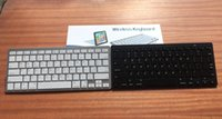 Wholesale Universal Abs System - Universal Ultra Slim Aluminum ABS wireless keyboard 78 Keys Bluetooth Keyboard for android device ,apple IOS system