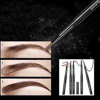 Wholesale Top Waterproof Eyebrow Pencil - Wholesale- 2016 Top Quality 1Pc Rotatable Waterproof Eyeliner Eyebrow Eye Brow Pencil Makeup Cosmetic Pen 8AWW