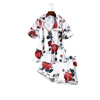 Wholesale Slim Look Dress - The new Europe and the United States women's 2017 spring Runway looks retro printing lapel shirt pants suit