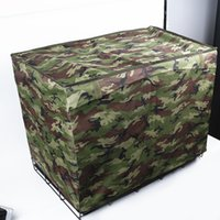 Wholesale dog cage large - Pet Kennel cover- Waterproof Pet Crate Cover for Wire Crate Dog Kennel Cage Cover 4 sizes 4 colors
