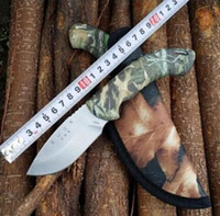 Wholesale Small Edc Multi Tool - In 2017 the new multi-functional outdoor straight knife Buck explorers small straight knife camping tools Wild camping tools Exquisite gift