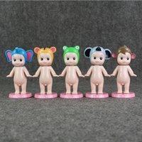 Wholesale Wholesale Kewpie Dolls - 12cm Kewpie Doll Sonny Angel Laduree Mini PVC Action Figure Collectable Model Toy for kids gift 5pcs set free shipping EMS