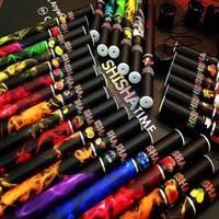 Wholesale E Cigarettee - E Shisha pens E Hookah pens shisha time Disposable Hookah electronic cigarettee lectronic cigarettes shisha flavors hookah head flavor vape