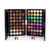 Wholesale Eye Shadow Colours - 40 Colour Eye Shadow Makeup Cosmetic Shimmer Matte Eyeshadow Palette Set