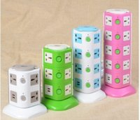 Wholesale Creative fruit with USB intelligent vertical multifunctional A charging with electric meter portable socket