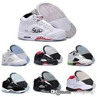 Wholesale Cheapest Basketball Sneakers - Cheapest sale real retro Air 5 men basketball shoes online originals quality sneakers us size 8-13 with box free shipping