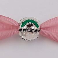 pulseiras de tema venda por atacado-Authentic 925 Sterling Silver Beads Disny Animal Kingdom Parque Temático Charme Serve Para Pandora Europeia Estilo Jóias Pulseiras Colar 750105588