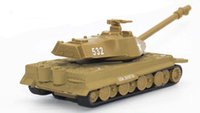 Wholesale Plastic Army Tanks - Alloy tank Back in the car Battlefield tank army voice ring The light is bright Main battle tanks