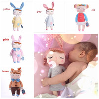 Wholesale Metoo Cartoon - 2017 New Genuine Metoo Cartoon Stuffed Animals Angela Plush Toys Sleeping Dolls
