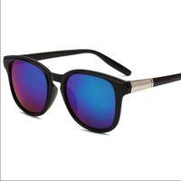 Wholesale Sun Glasses Lights - sun glasses Casual Sunglasses for women men vintage UV400 PC plastic Retro Fashion Accessories new Unisex light Coating wholesale 1 piece