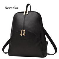 Wholesale Name Brand Backpack - Women Backpack Leather Backpacks Softback Bags Brand Name Bag Preppy Style Bag Casual Backpacks Teenagers Backpack Sac