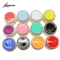Wholesale Soak Off Uv Gel 12 - Wholesale-12PCS Set New Nail Art Design 12 Colors UV LED Soak Off Paint Color Gel Ink UV Gel For Nails M02565