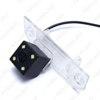 Wholesale Reverse Camera Ford Focus - FEELDO CCD Reverse Car Camera With LED lights for FORD FOCUS SEDAN Hatchback C-MAX Rear View Camera SKU:4030