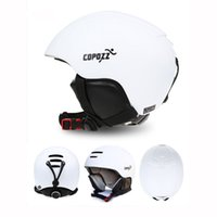 Wholesale New Copozz Ski Helmet Integrally molded Snowboard Helmet Men Women Skating Skateboard ABS Material
