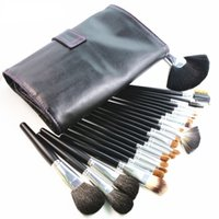 Wholesale case full makeup resale online - Full Function Makeup Brushes Set Pieces Nature Hair Makeup Tools Kit with Case Professional Cosmetic Make Up Brush