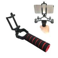 Wholesale Smart Rc Helicopter - 3D Print Handhold Gimbal Stick Holder Bracket For DJI Spark RC Drone and Smart phone