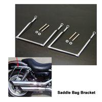 soportes yamaha al por mayor-envío gratis bolsa de sillín de la motocicleta barras de soporte montajes soporte apto para Kawasaki, para Yamaha y para la motocicleta Suzuki