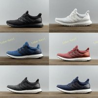 Wholesale Tracing Tables - 2017 nmd Ultra Boost 3.0 Trace Olive 3 Triple Black White Parley for the Oceans Primeknit Womens Mens Running Shoes Sneaker