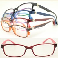 Wholesale Eyeglasses W - Wholesale- wholesale 8322 pupil TR90 colorful squre optical full-rim ultra lightweight eyeglass frames w durable spring hinge free shipping