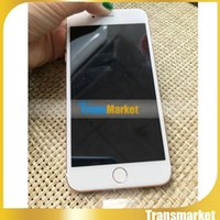 """Wholesale Chinese Smartphone Copies - 1pc Goophone i7 plus copy cell phones 5.5"""" MTK6572 Dual Core 512M 512M show 4g lte Show 1G 64G 500 camera android Smartphone Metal Body"""