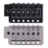 Wholesale Electric Guitars Bigsby - Electric Guitar Tremolo Bridge Set for Strat Electric Guitar Replacement Guitar Accessories Instrument