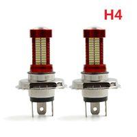 Wholesale Headlight Dome - 2PCS H4 40W 10000LM LED Headlight Kit Beam Bulb 6500K White Car LED Light