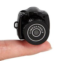 Wholesale Mini Pc Web Cam - Wholesale-Hot Sale Mini Smallest HD Video Camera 480P Mini Pocket DV DVR Portable Camcorders Micro Digital Recorder USB PC Web Cam
