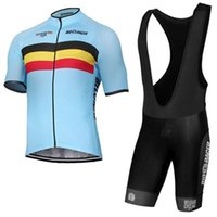 Wholesale Belgian Red - New BELGIAN pro cycling jersey 2017 Bisiklet team sport suit bike maillot ropa ciclismo Bicycle MTB bicicleta clothing set