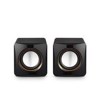 Wholesale Speakers For Portable Dvd Player - Best portable speaker [2 PCS box] Mini speakers multimedia speaker Dynamic modern sound speakers for PC DVD MP3 Hi-Fi