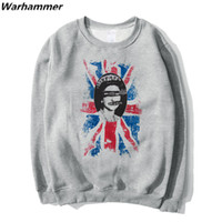 SexPistols God Save The Queen Hoodies Uomo Stampa Stampa Completa Manica Punk Style Rock Autunno Winter Panno Cotone Grigio S 2XL Hoodies Drop Ship