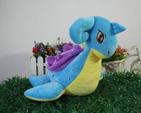 Wholesale Lapras Plush - Lapras Plush Toy Game Character Soft Stuffed Animals Toys Doll Gift for Children 27cm