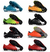 Wholesale Mens Low Ankle Shoes - Low Ankle Hypervenom Phantom III FG Soccer Cleats Neymar Boots Hypervenoms ACC High Quality Mens Football Boots New Cheap Soccer Shoes 2017
