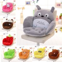 Wholesale Wholesale Nonwoven Material - Cartoon Cushion Totoro Seat Cushions Pillow Ventilation Thickening Gift Creative Bread Student Soft Material Cute Funny Colorful 34yc H R