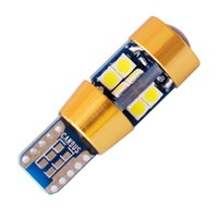 50PCS Super Bright T10 19 SMD 3030 LED W5W WY5W 192 2825 168 501 Blanc Auto Wedge Lamp Car Marker Light Dome Reading Bulb DC 12V