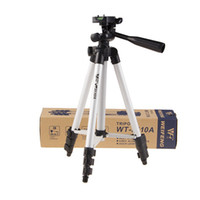 Wholesale Tripod For Small Digital Camera - Fordable CaPortable Light weight Afmera Tripod Stand WF3110A For Wt Digital Small Camera Photographic Equipment W  Carrying Bag FreeShipping